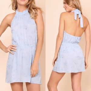 Flynn Skye Poppy Mini Dress in Baby Blue